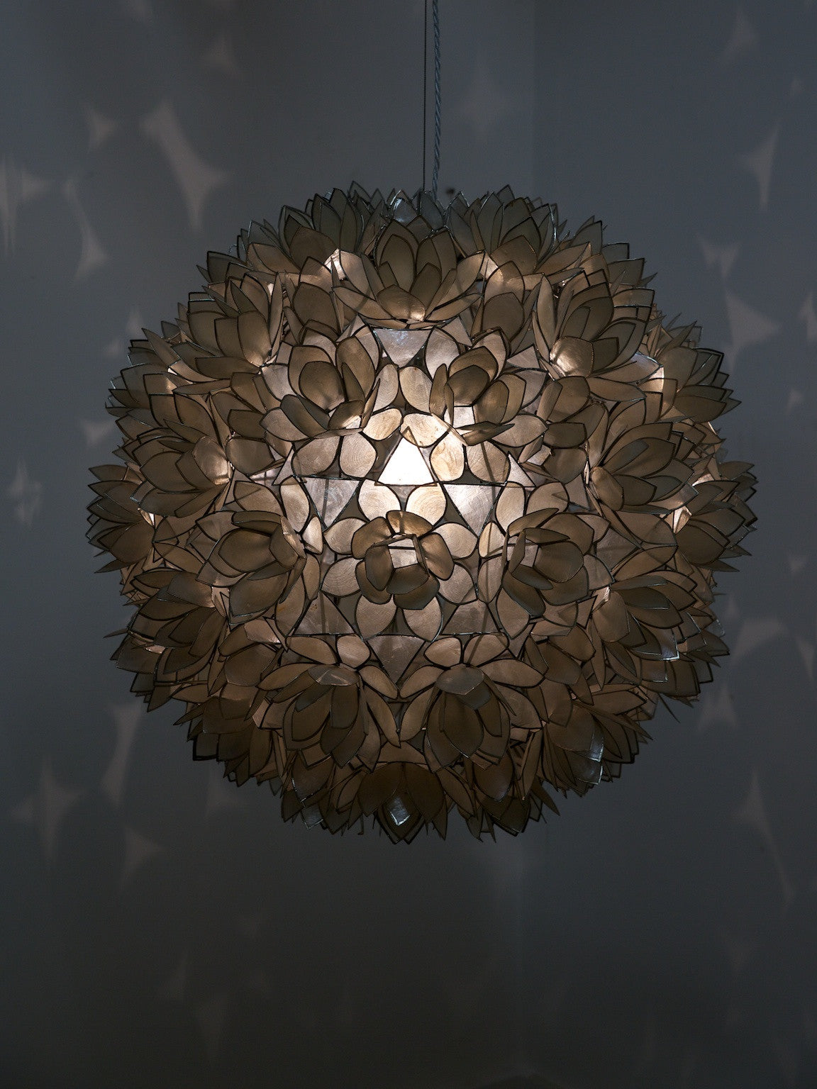 Shell flower light drew pritchard ltd shell flower light arubaitofo Gallery