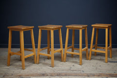 Square Seat Lab Stools