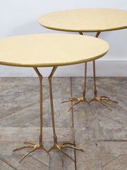 Meret Oppenheim Traccia Side Tables