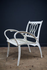Cast Alloy Armchairs