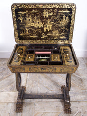 Chinoiserie Sewing Table