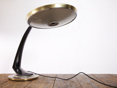 Black & Gold Fase Lamp
