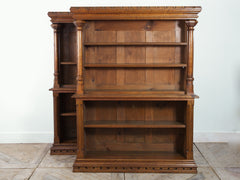 Pair of Gothic Bookcases