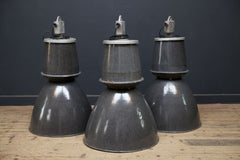 Large Grey Pendant Light