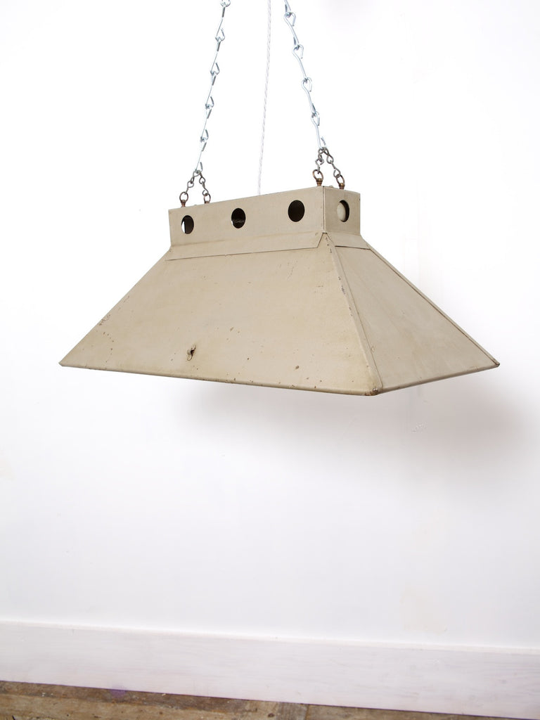 Industrial Mirrored Pendant