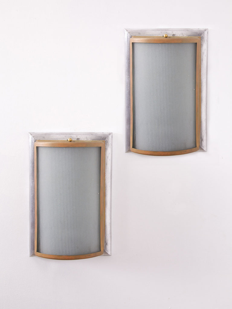 Pair of Deco Wall lights