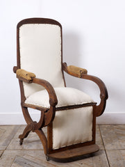 Oak Reclining Chair