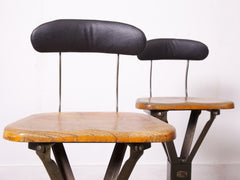 Tall Evertaut Factory Stool