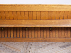 Oak Church Pews
