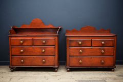 Painted Provincial Chests
