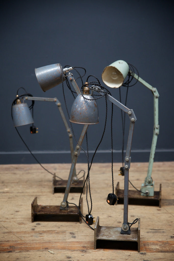 Industrial Anglpoise Lamps