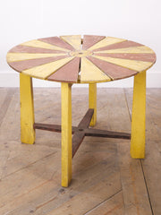 Garden Parasol Table