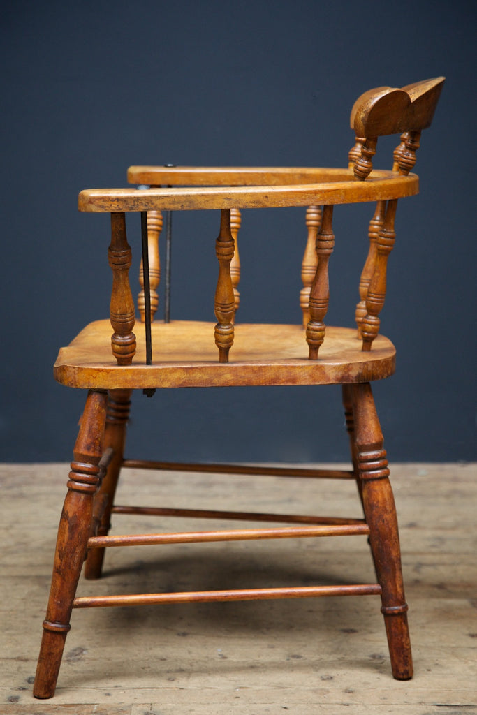 Oak & Maple Arm Chairs
