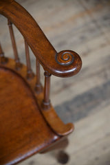 Lyre Back Arm Chairs