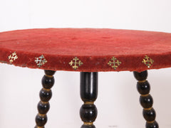 Velvet Bobbin Table