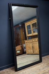Large Ebonised Mirror
