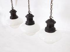 Diffused Opaline Pendants