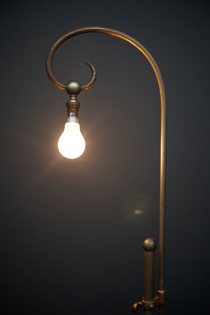 Wrought Iron Floor Lamp by Yelin