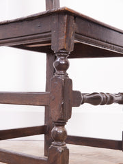 17th Century Oak Chair