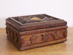 Tramp Art Trinket Box