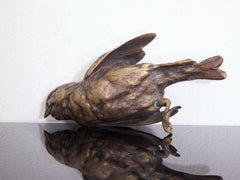 Bronze Finch Paperweight