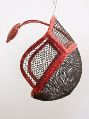 Red Fencing Mask
