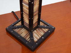 Porcupine Quill Table Lamp