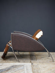 Pony Hide Arm Chair