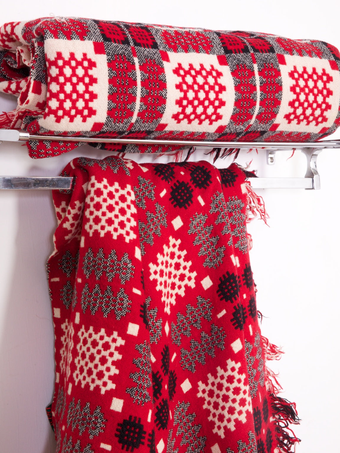 Pair of Welsh Blankets