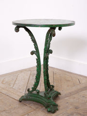 Green Cast Iron Table