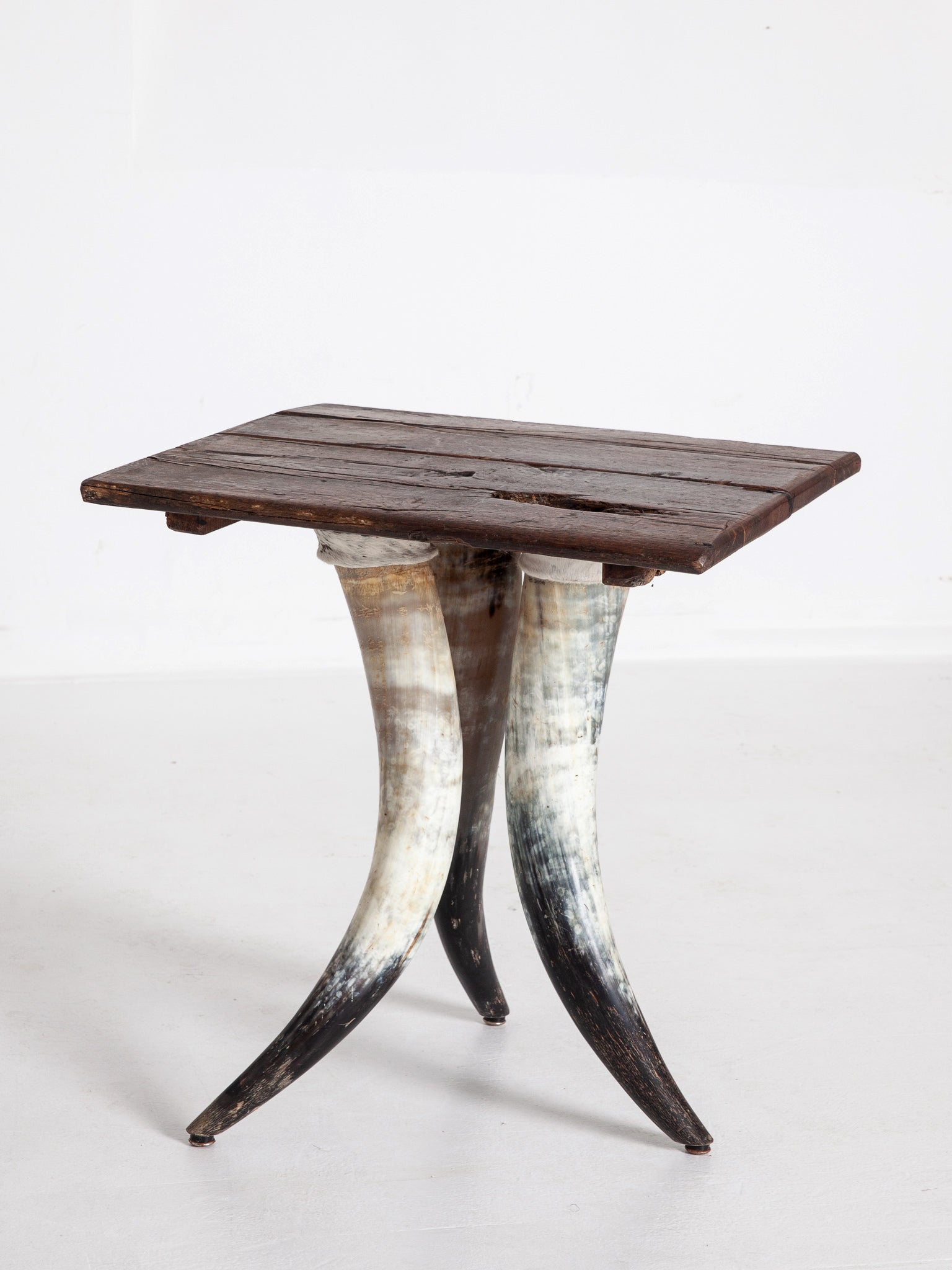 Horn Leg Side Table