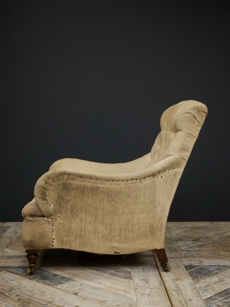 Button Back Armchair