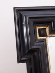 Ebonised Wall Mirror