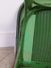 Green Wicker Chairs