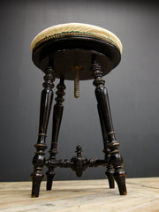 Ebonized Stool