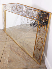 Large Decorated Mirror