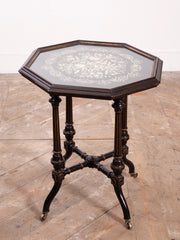 Embroidered Occasional Table