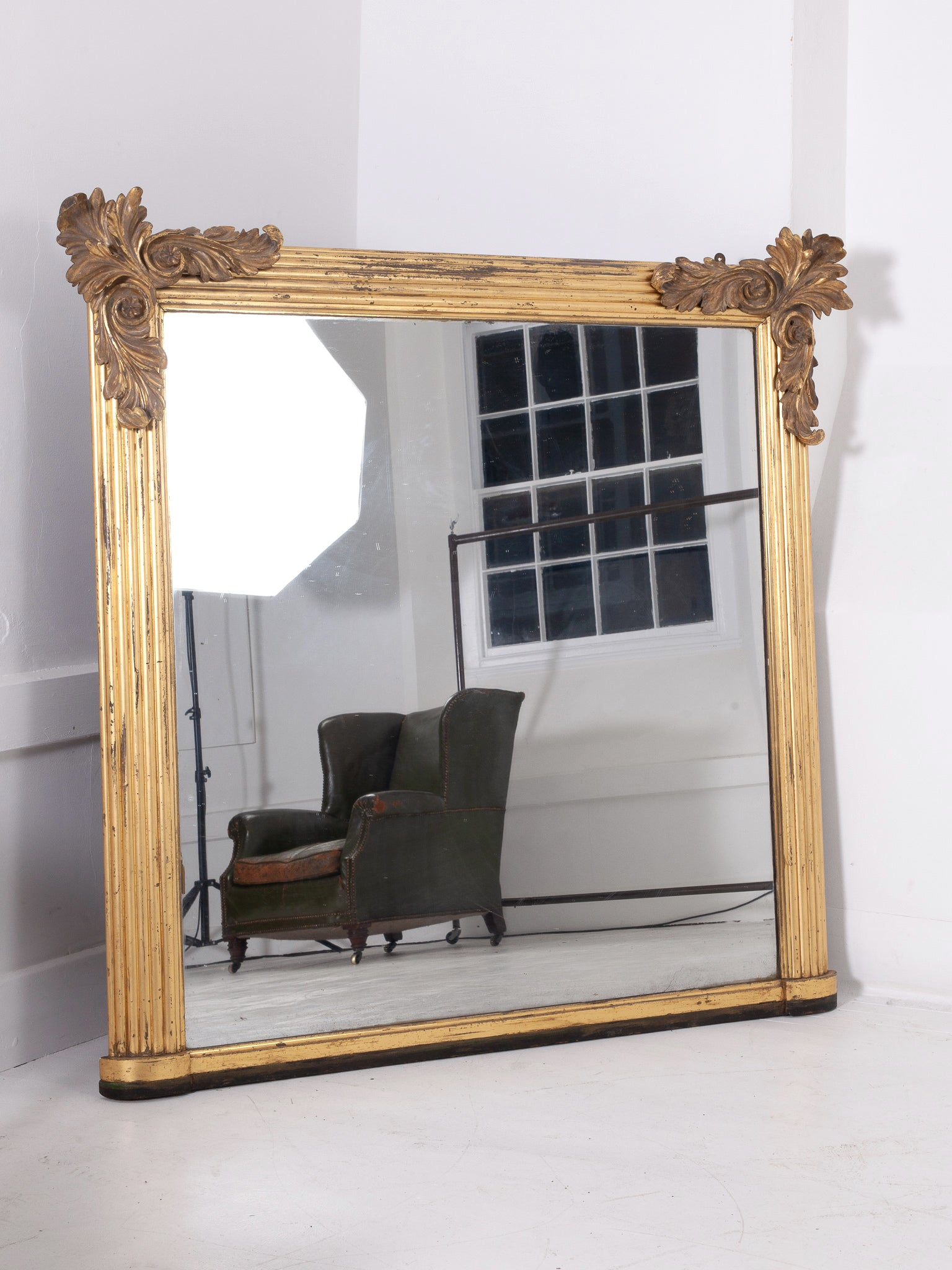 William IV Overmantel Mirror
