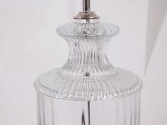 Glass Baluster Table Lamp