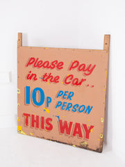 Please Pay in the Car