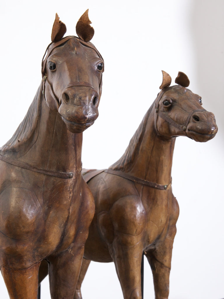 A Pair of Leather Horses
