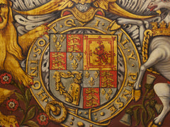 17th Century Courtroom Coats of Arms