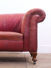 Moroccan Leather Sofa
