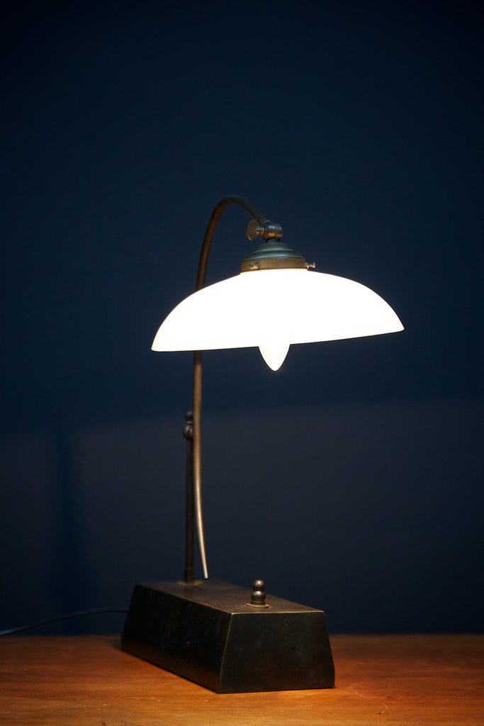 Opaline Office Lamp