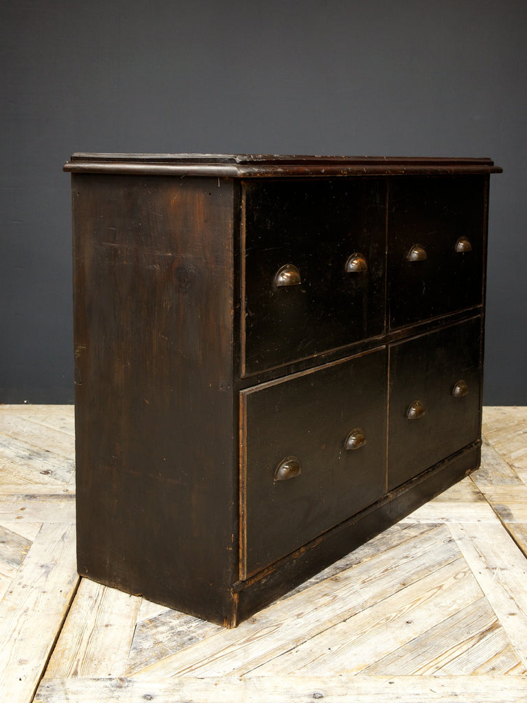 Four Drawer Haberdashery Cabinet