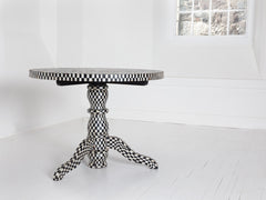 Ebony & Mother of Pearl Centre Table