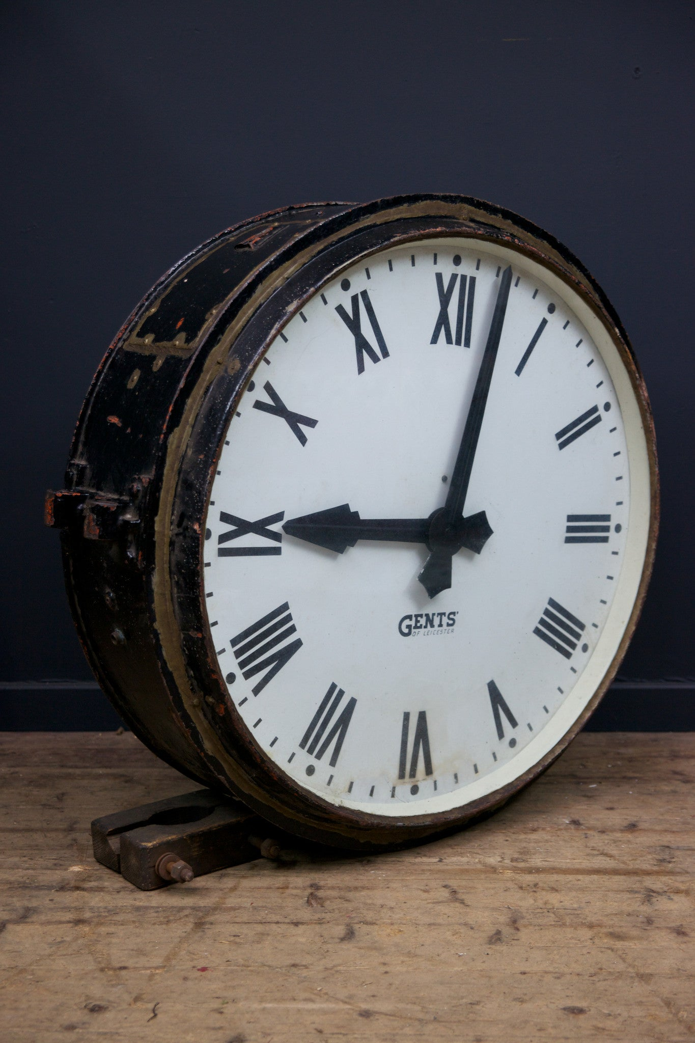 Large Station Clock Drew Pritchard Ltd