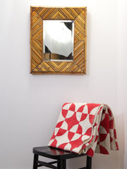 Bamboo framed Mirror