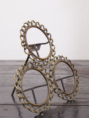 Brass Chain Picture Frame