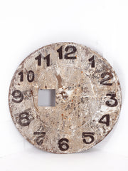 Steel Tower Clock Face
